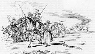 Karl May A baggarai rabszolgakaraván jelenet