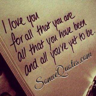 Amazing love quote - someequotes.com