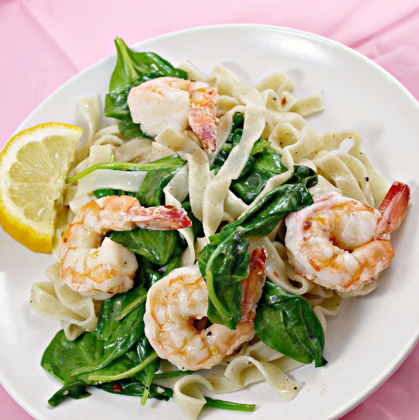 Watch Florentine Shrimp and Pasta video