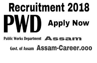 Public Works Department (PWD) Recruitment 2018 Assam