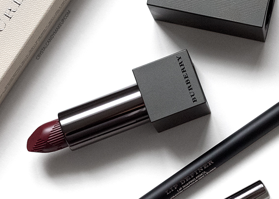 Burberry Lip Velvet Oxblood No.437 Lip Definer No.14 Review