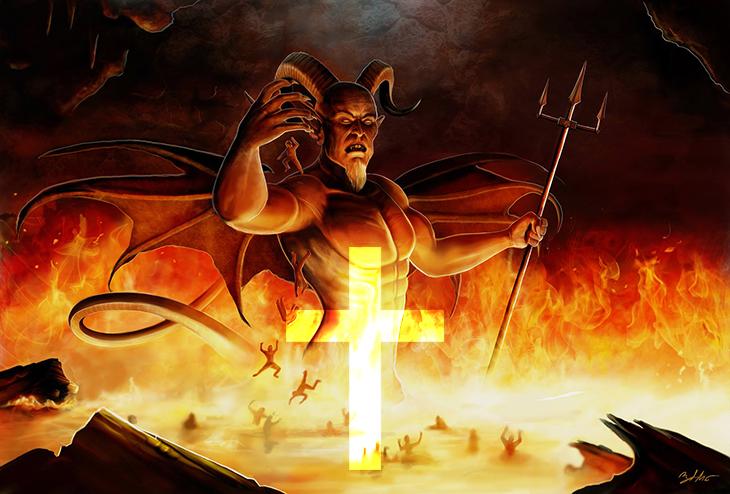 din, A, hristiyanlık, İncil'de şeytan, İncil'de kölelik, İncil'de tecavüz, Koloseliler 3:22-24, Tesniye 20:10-14, Yeni ömür 22:28-29, Yeni ömür 21:10-14, Yaşeya, 1.Günler 21:1, Çıkış 34:14, 2.Korintlular 4:4, İşaya 45:7,