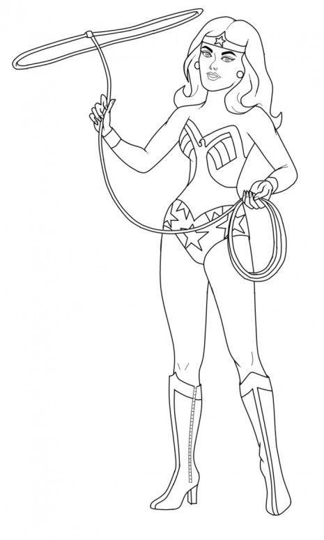 Wonder Woman coloring.filminspector.com