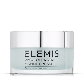 Blogger Lucy Dorling's favourite moisturiser, Elemis Pro-Collagen Marine Cream. Image: courtesy Elemis