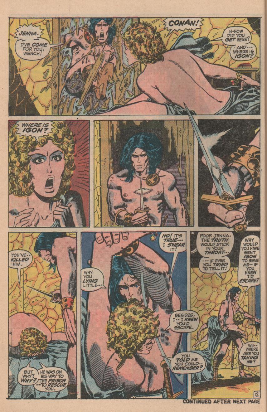 Conan the Barbarian (1970) Issue #11 #23 - English 16