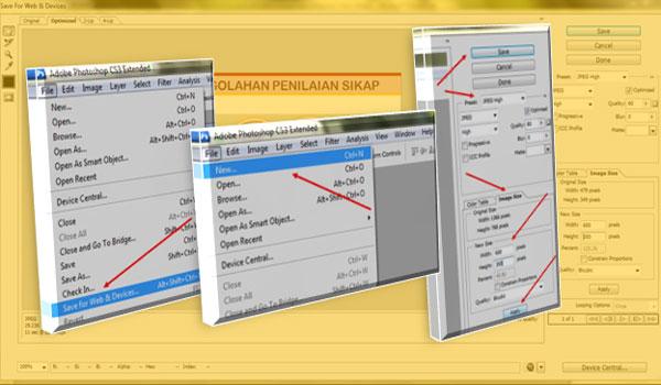 Cara Mudah Resize Image Dengan Photoshof Untuk Kecepatan Loading Blog