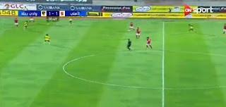 بالفيديو : صالح جمعة وباسم على يقودان الاهلي لاكتساح وادي دجلة برباعية فى كأس مصر 2017
