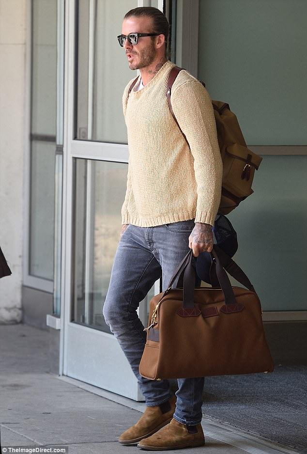 Wear it like beckham for David beckham t shirt brand