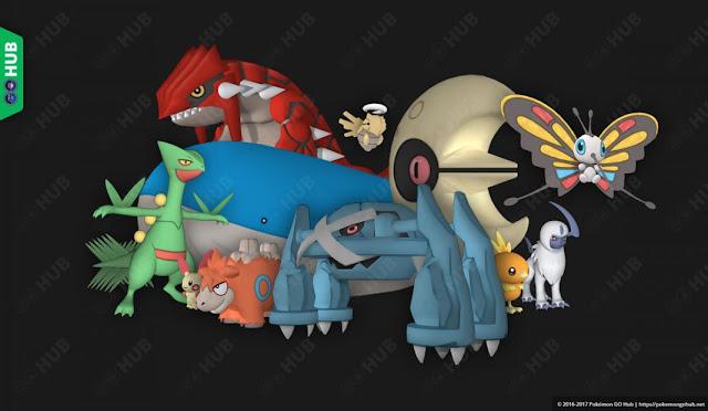 Se encuentra la tercera generación, shiny e imágenes en el código de Pokémon GO, ¡se avecina la tercera!