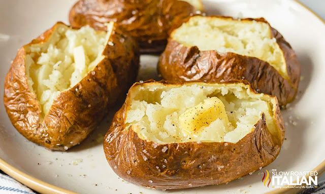 Potatoes in the air fryer  with butter