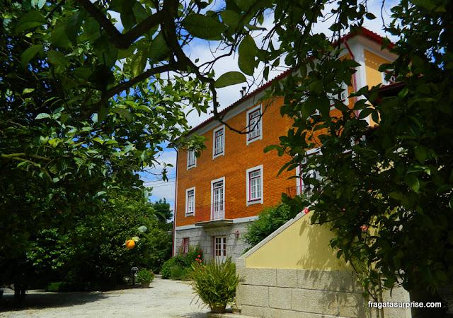 Casa São Faustino de Fridão, quinta em Amarante, Portugal