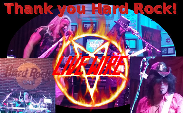 Live Wire, The #1 Motley Crue Tribute Band wants to thank you Pittsburgh for coming to see us at The Hard Rock on October 15, 2016!