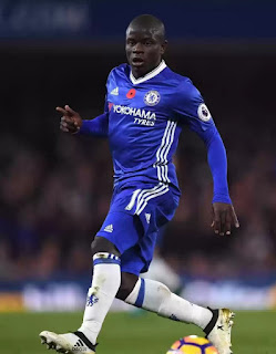 Kante Secures Football Writers of the year award