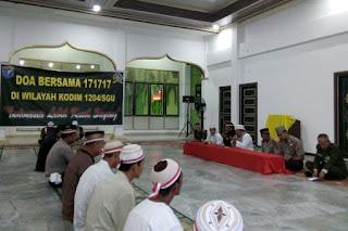 TNI Gelar Doa Bersama di Empat Rumah Ibadah