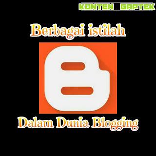 berbagai istilah dalam dunia blogging