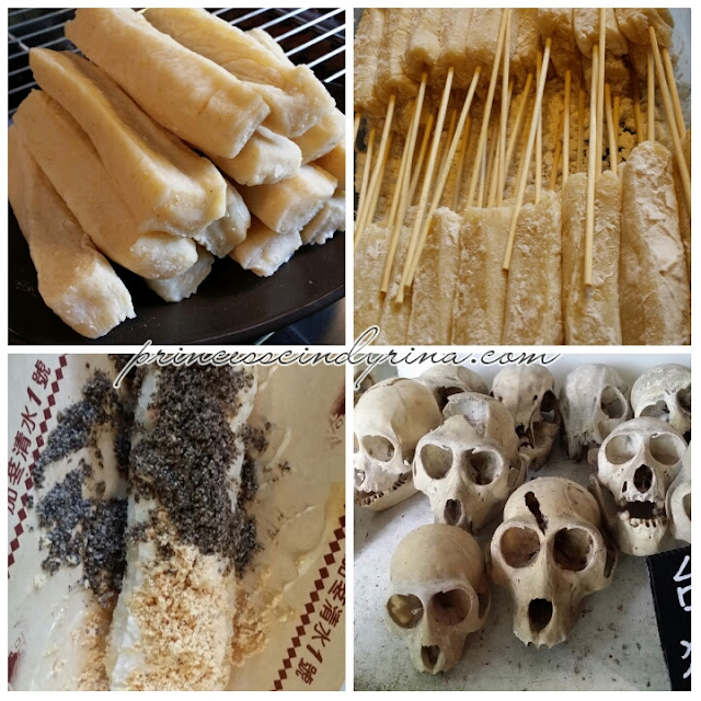 rice cakes and monkey skulls