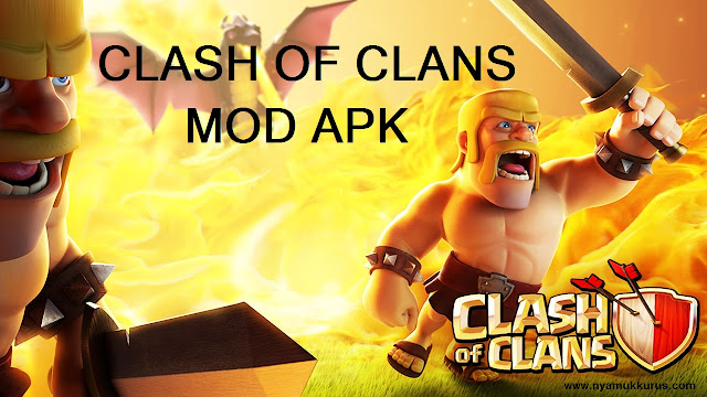 Download Cheat Clash of Clans Mod Hack Apk (Unlimited Gems) Terbaru