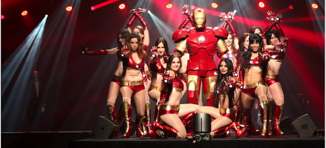 iron man rockettes cosplay