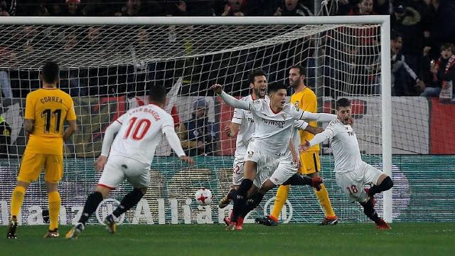 Copa Del Rey: Sevilla ke Semifinal Usai Singkirkan Atletico
