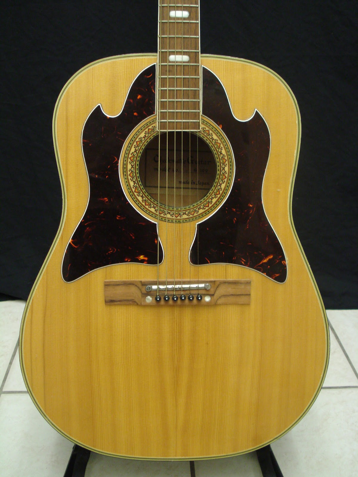 socal gear museum 1960s checkmate model no g 300 acoustic guitar. Black Bedroom Furniture Sets. Home Design Ideas
