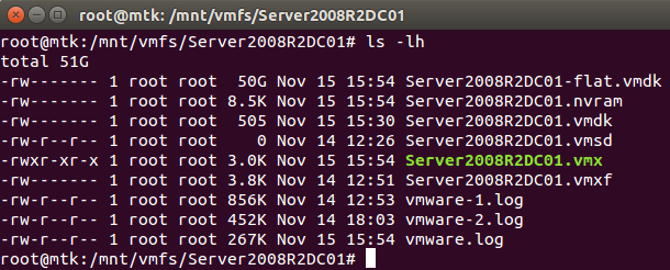 Mash That Key: Mounting the VMFS File System of an ESXi