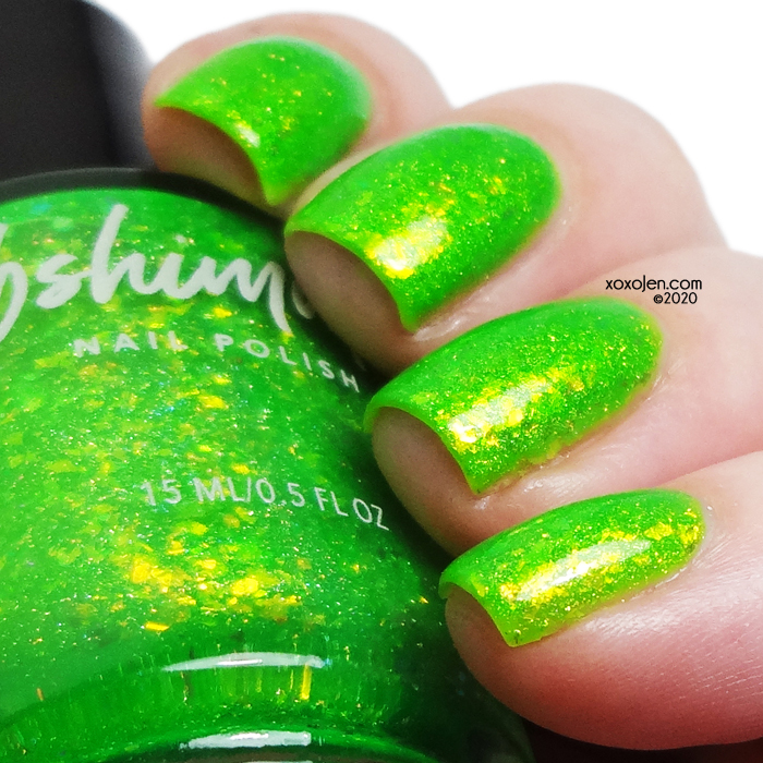 xoxoJen's swatch of KBShimmer He Slimed Me