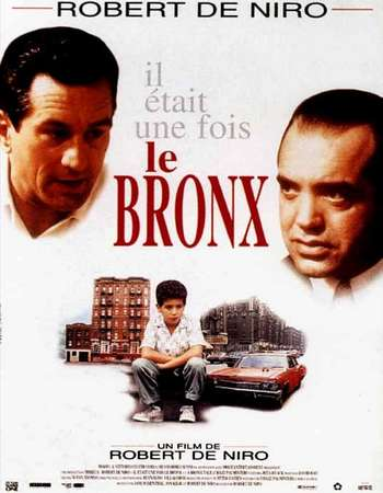 Poster Of A Bronx Tale 1993 English 350MB BRRip 480p ESubs Free Download Watch Online Worldfree4u