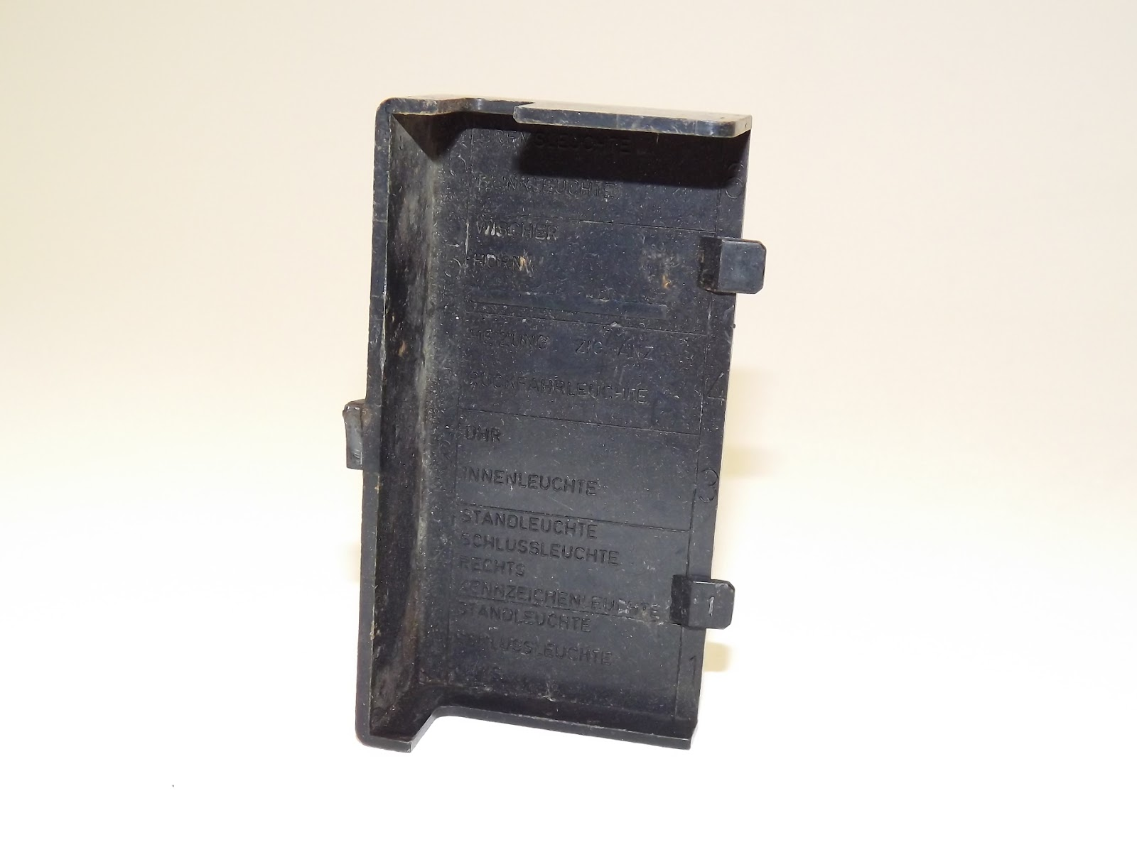 hight resolution of sold opel manta ascona a series fuse box 15