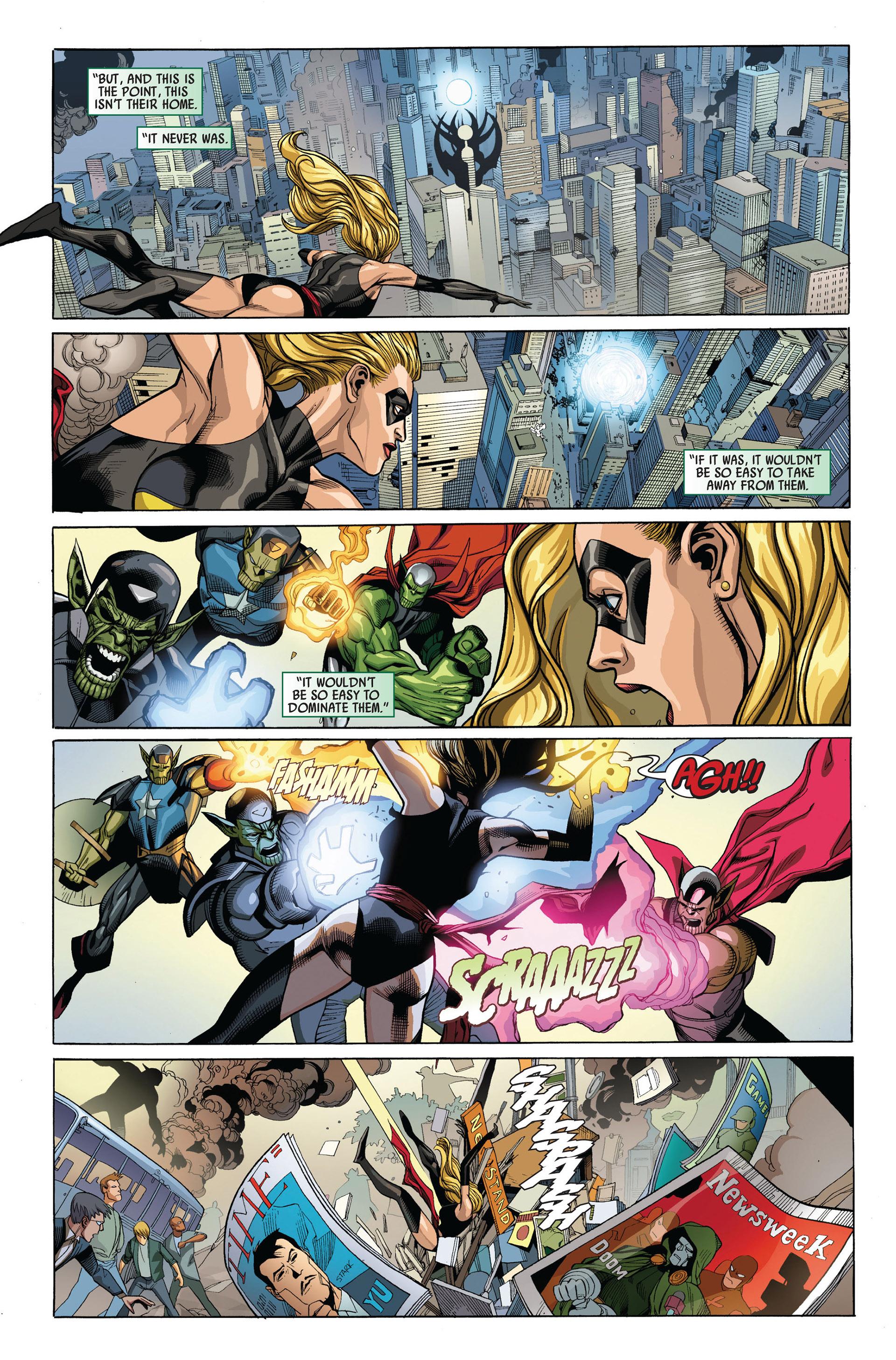 Read online Secret Invasion comic -  Issue #4 - 6