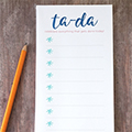 Ta-Da Notepad