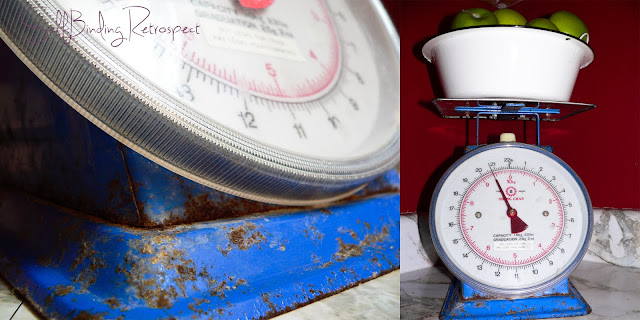 vintage, old, rusty, scale, kitchen scale, barn scale