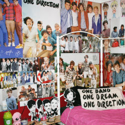 One Direction Teen bedroom obsession