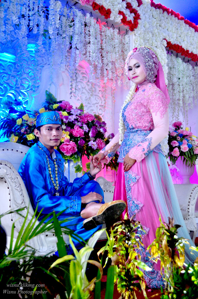 Foto Wedding Titin & Saep - Sesi Foto Wedding || Fotografer & Editing By : Wisnu Darmawan ( Klikmg ) Fotografer Purwokerto & Indonesia