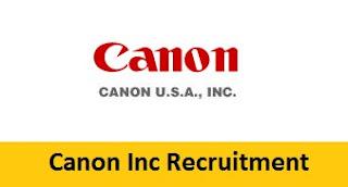 Canon Inc Recruitment 2017-2018