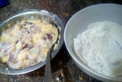 cumi goreng tepung