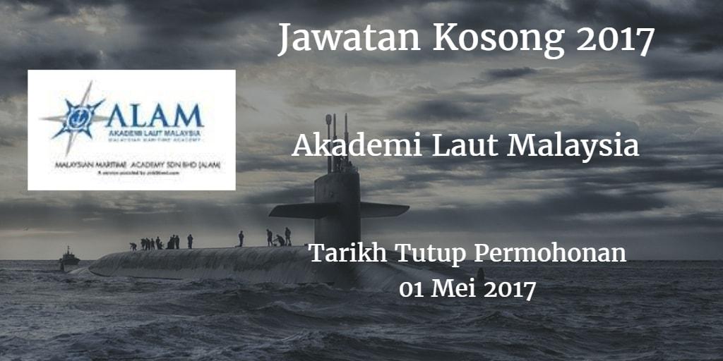 Jawatan Kosong ALAM 01 Mei 2017