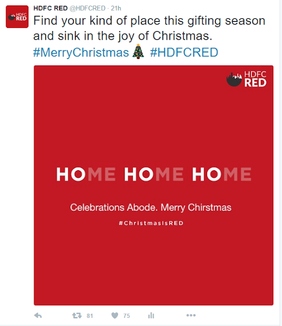 #ChristmasIsRED: HDFC RED's joyous take on Christmas celebrations