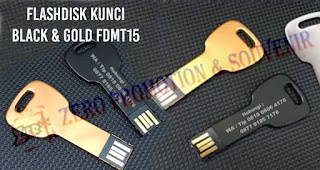 Flash Disk Metal bentuk Kunci Lengkung FDMT15, Flash Disk Metal Series - FDMT15, USB Flashdisk Key kunci  FDMT15 (Real capacity guaranteed), Usb Metal Kunci Bulat FDMT15 Black & Gold
