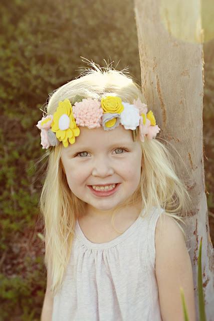 Resultado de imagen para Vinchas de flores Para Niñas