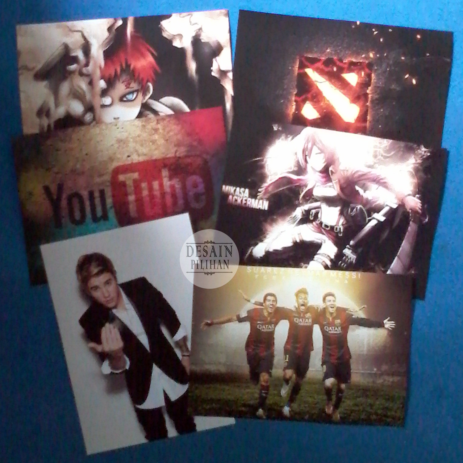 POSTER CUSTOM, POSTER JUSTIN BIEBER, POSTER FOOTBALL CLUB, POSTER YOUTUBE, POSTER ANIME, POSTER DOTA2