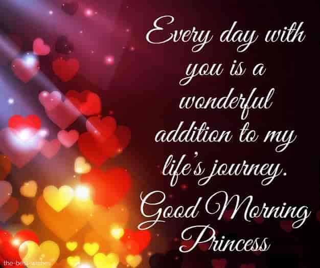 good morning beautiful princess quotes