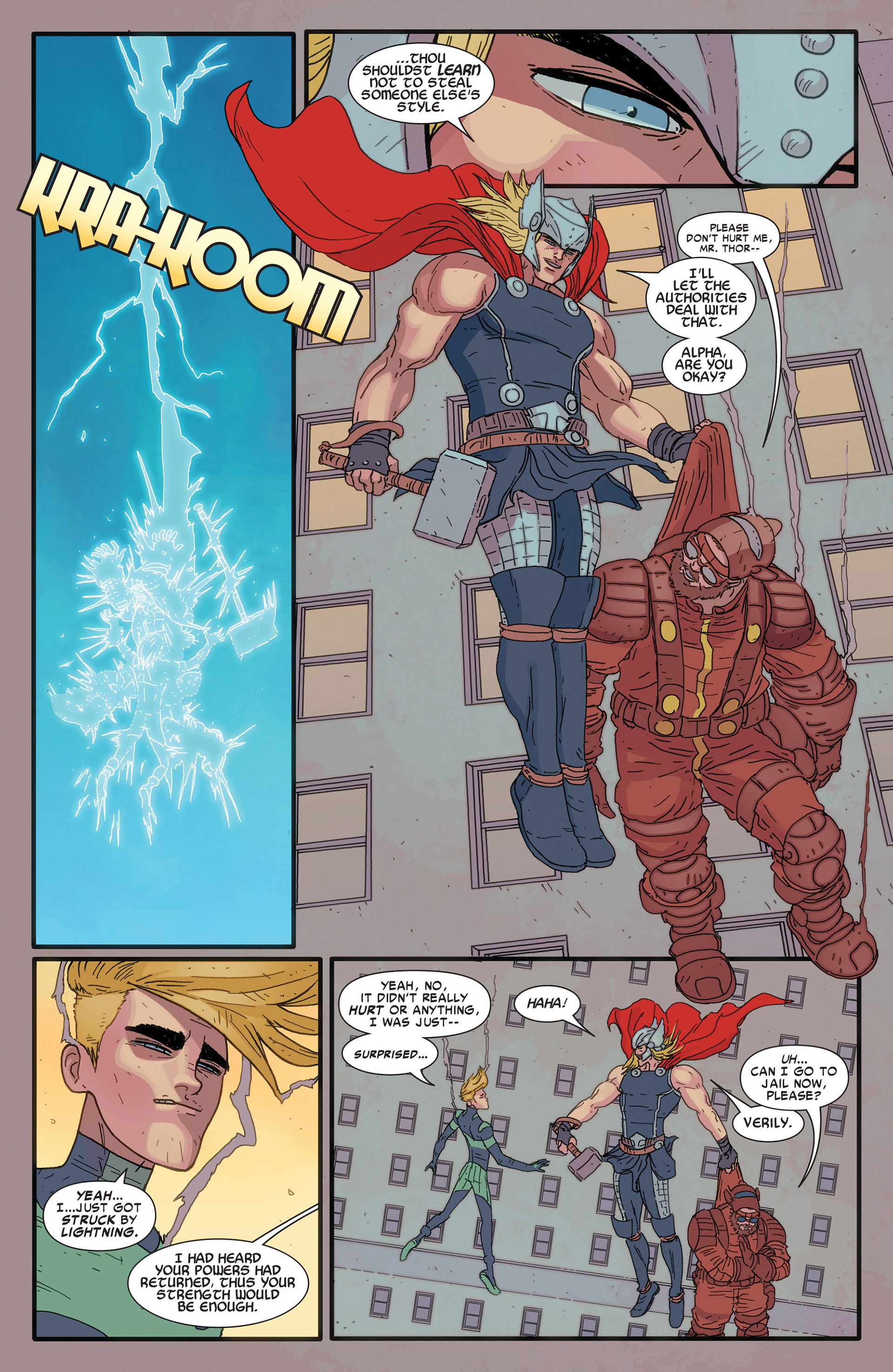 Read online Alpha - Big Time comic -  Issue #4 - 6