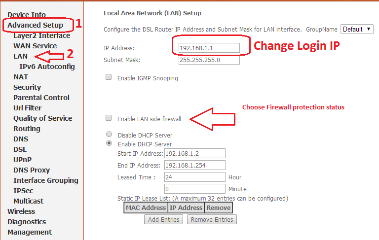Airtel DSL Broadband Connection Optimization