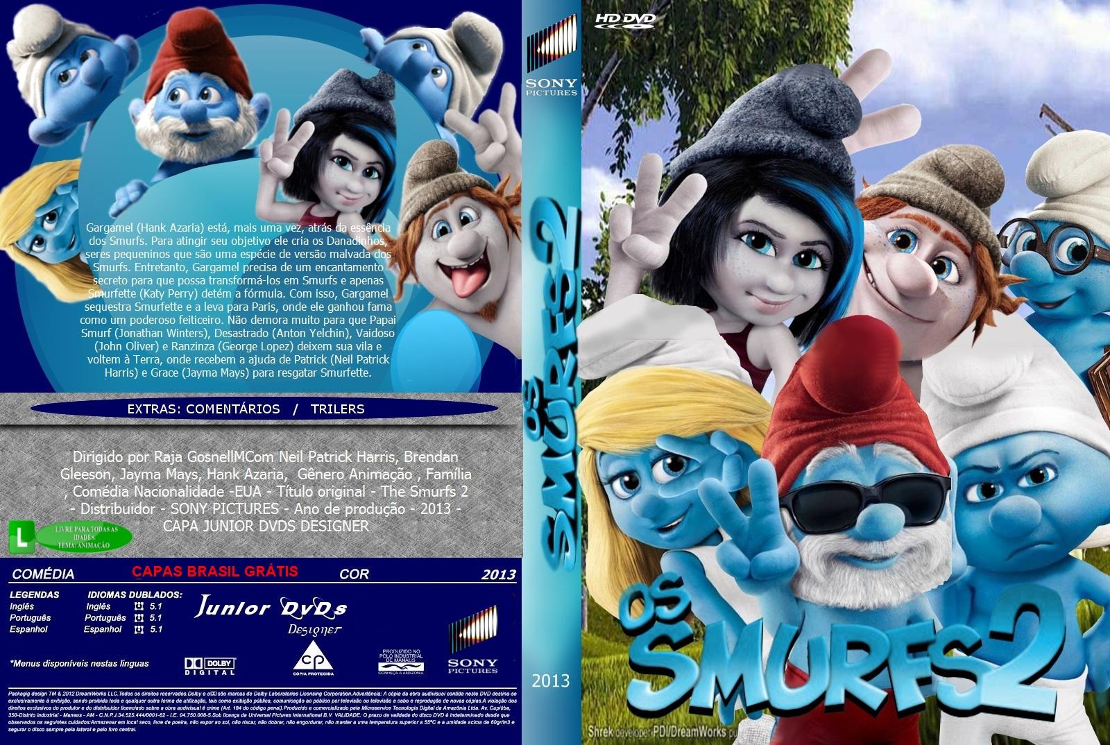 SMURFS BAIXAR GRATIS FILME 2 DUBLADO OS AVI