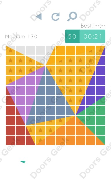 Cheats, Walkthrough for Blocks and Shapes Medium Level 170