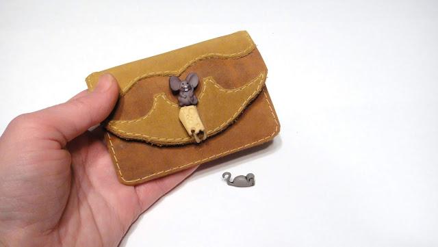 Маленькие кошельки - подарок девушке или девочке. Натуральная кожа crazy horse. Подходит для визиток и пропусков