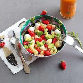 Illustration Salade Avocat - Crevette & Fraise