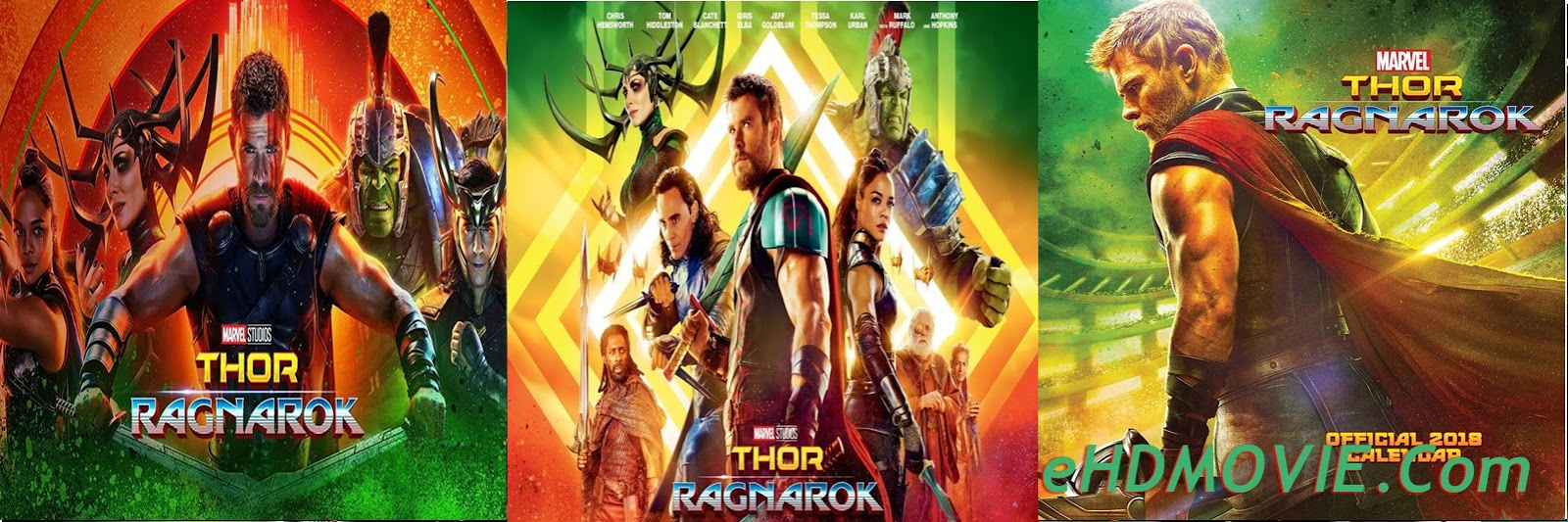 Thor Ragnarok 2017 Full Movie Dual Audio [Hindi – English] 720p – 480p ORG BRRip 450MB – 1GB ESubs Free Download