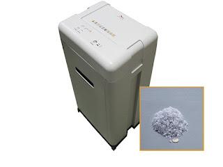 máy huỷ tài liệu ZIBA HC-38