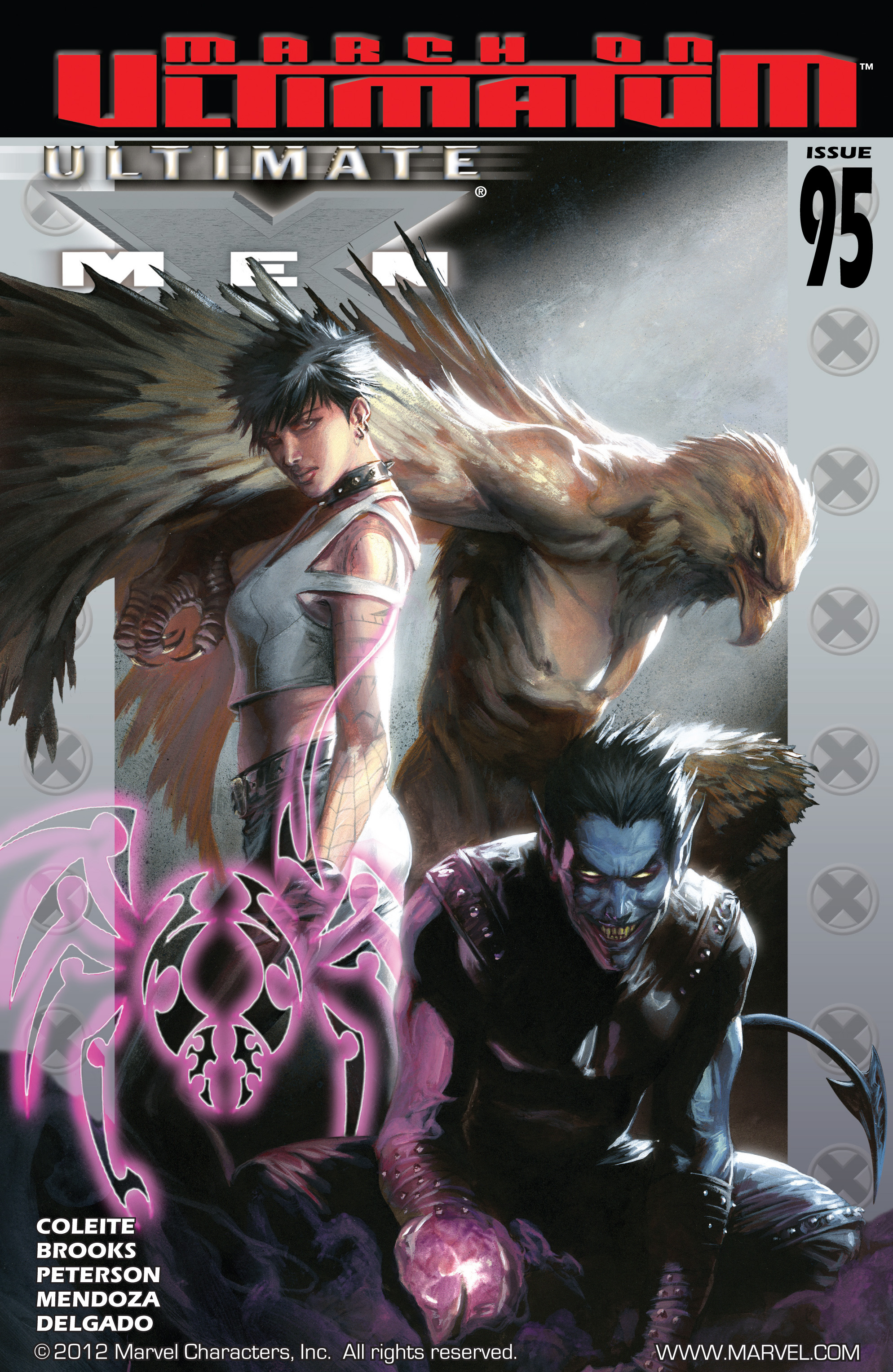 Read online Ultimate X-Men comic -  Issue #95 - 1